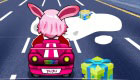 Pink Car Racing