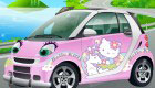 Decorate Hello Kitty's Car