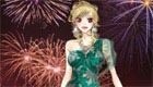New year fireworks dress up