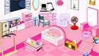 A bedroom in Pink