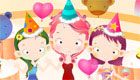 Lauren's girls birthday games