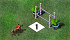 Horse Show Jumping Game