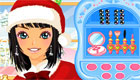 A Christmas Game for a Super Model