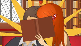 Kissing in the Library