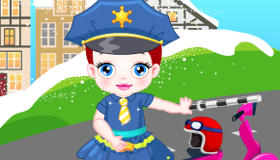 Baby Lulu the Traffic Officer
