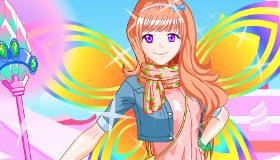 Manga Fairy Girl