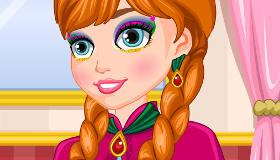 Frozen Anna Make Up Look