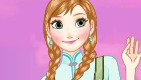 Makeover Anna Frozen