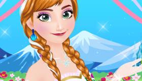 Anna Frozen Wedding Makeover