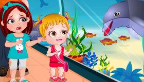 Baby Hazel Dolphin Show