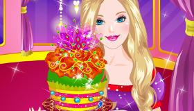 Barbie's Glittery Cupcake