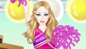 Cheerleader Barbie Mobile