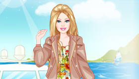 Barbie Honeymoon Dress Up