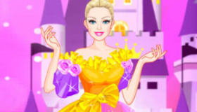 Barbie Magician Dress Up Mobile