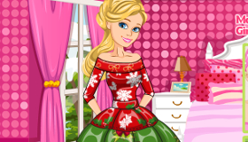 Barbie Christmas Patchwork