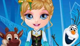 Frozen Baby Barbie Dress Up