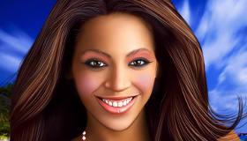 Beyonce Virtual Makeover