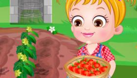 Play Baby Hazel Tomato Farm