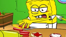 Krusty Krab Burger Challenge