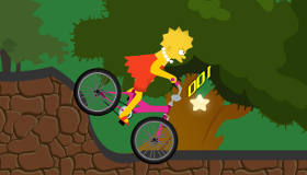 Lisa Simpson's Bike Ride