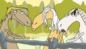 Musical Singing Horses