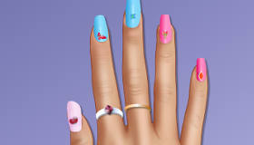 Cinderella 2015 Manicure
