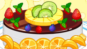 Cake Fruits Decoration