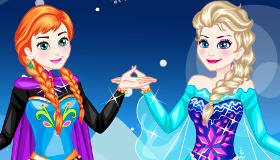 Frozen Princesses Dress Up