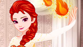 Frozen Elsa Fiery Makeover