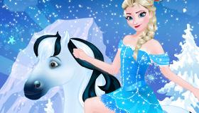 Elsa Goes Horseriding