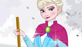 Elsa Harry Potter Dress Up