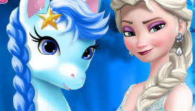 Frozen 2 Elsa's Pony