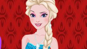 Elsa Wheel of Frozen Fashion