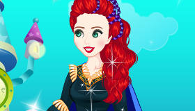 Dress Up Disney Princess Merida Emo Style
