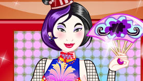 Mulan Emo Dress Up