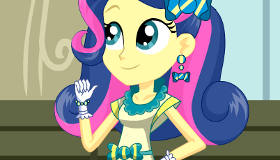 Equestria Girls Bon Bon Dress Up