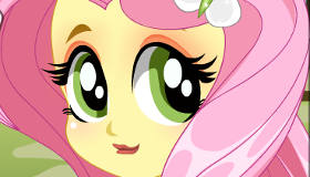 Dress Up Equestria Girl Fluttershy