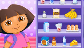 Dora Explorer Cooking