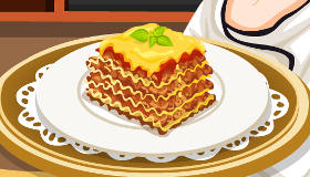 Cooking Lasagne