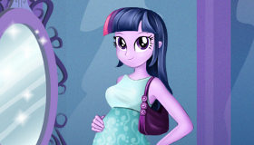 Twilight Sparkle Pregnant Dress Up