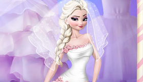Elsa's Frozen Wedding Salon