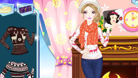 Warm Winter Fashion Dress Up