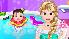 Elsa Frozen Baby Spa