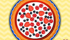 Berry Pie Baking
