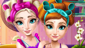 Dress up games frozen fever coloring