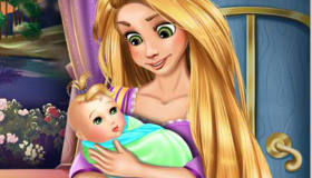 Princess Rapunzel's Baby
