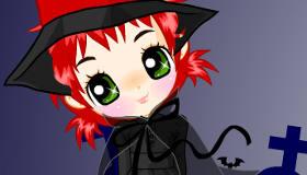 Pretty Witch Dress Up