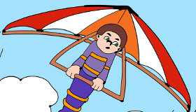 Hang Gliding Online Coloring