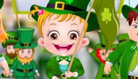 St Patricks Day Baby Hazel