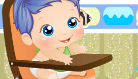 Baby Jack in the Bath